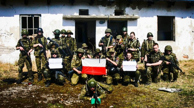 fot. Jednostka Strzelecka 2033 im. Gen. bryg. Józefa Kustronia w Lubaczowie