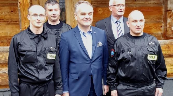 Prezes ZOSP RP dh Waldemar Pawlak szkolił strażaków ochotników