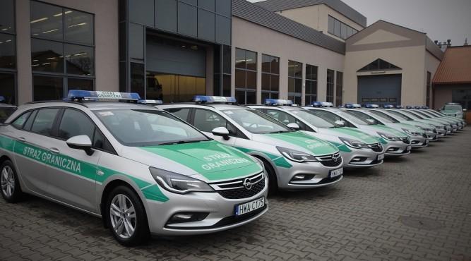 Nowe pojazdy fot. BiOSG