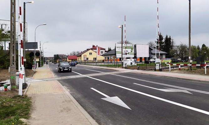 Przebudowany przejazd kolejowy na ul. Mickiewicza w Lubaczowie