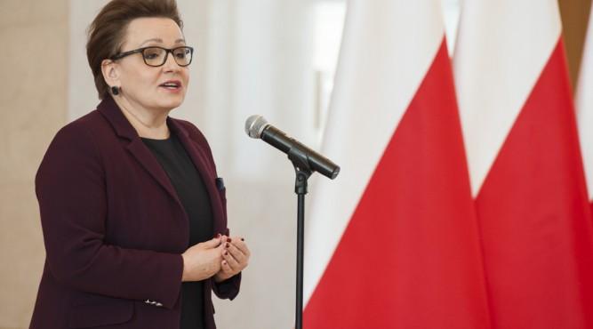 Minister Anna Zalewska fot. KRPM