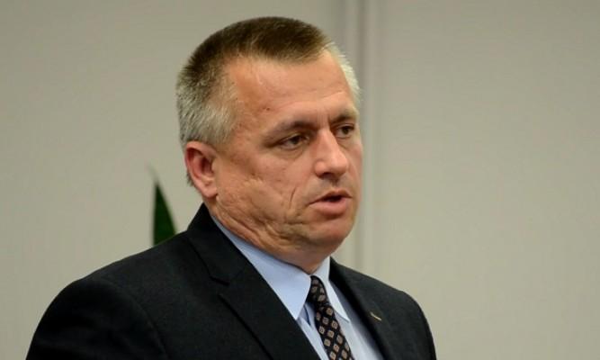 Burmistrz Lubaczowa Krzysztof Szpyt fot. zlubaczowa.pl