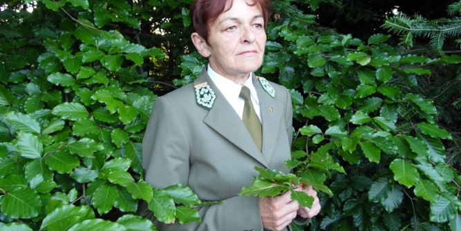 Grażyna Zagrobelna, Dyrektor Regionalnej Dyrekcji Lasów Państwowych w Krośnie