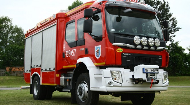 Taki samochód otrzymają strażacy z Baszni Dolnej fot. bocar.com.pl