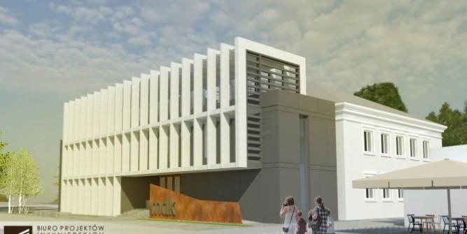 Koncepcja rozbudowy przygotowana przez Biuro Projektów Inżynierskich Pro-Gress