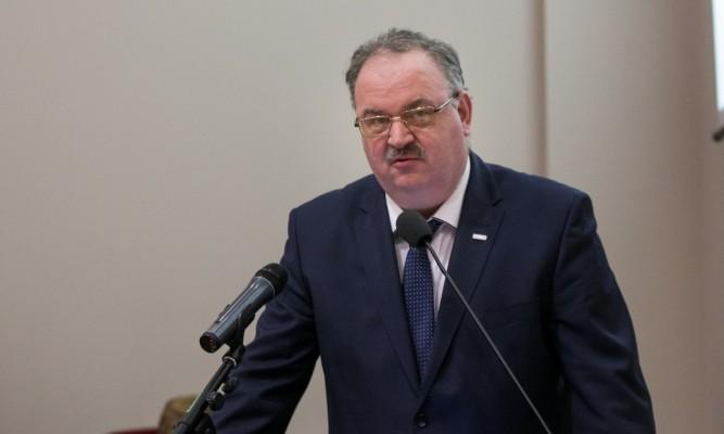 Piotr Pilch fot. Michał Mielniczuk, biuro prasowe UWMP