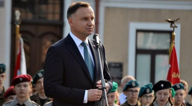 Prezydent w Lubaczowie fot. archiwum zlubaczowa.pl