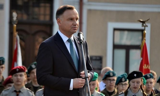 Prezydent Andrzej Duda zapowiedział, że będzie kandydował w wyborach fot. archiwum zlubaczowa.pl