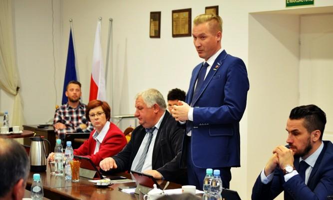 Radny Krzysztof Czerniak fot. zlubaczowa.pl