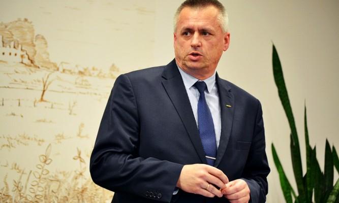 Burmistrz Krzysztof Szpyt fot. zlubaczowa.pl