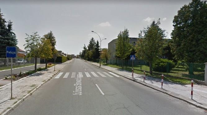 Droga na ulicy Słowackiego w Lubaczowie zostanie przebudowana fot. Google