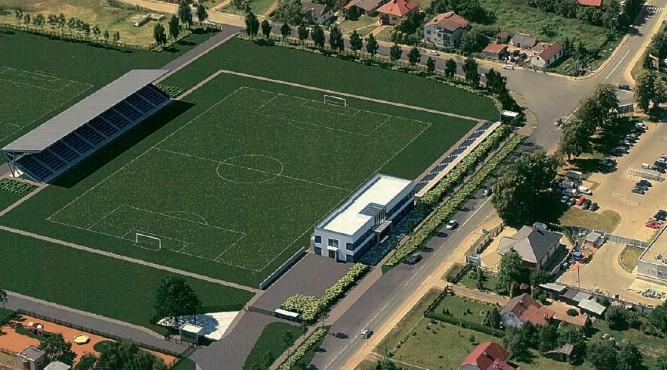fot. koncepcja z 2017 roku przebudowy albo budowy Stadionu Miejskiego