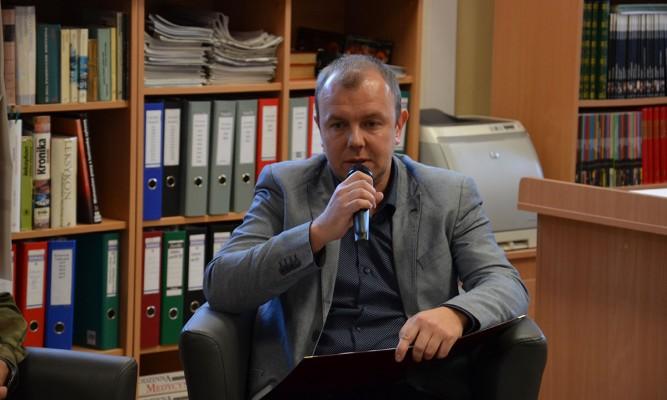 Tomasz Róg fot. MBP Lubaczów