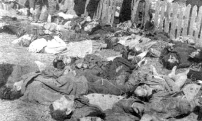 fot. Polacy zamordowani przez UPA/fot wikipedia.org